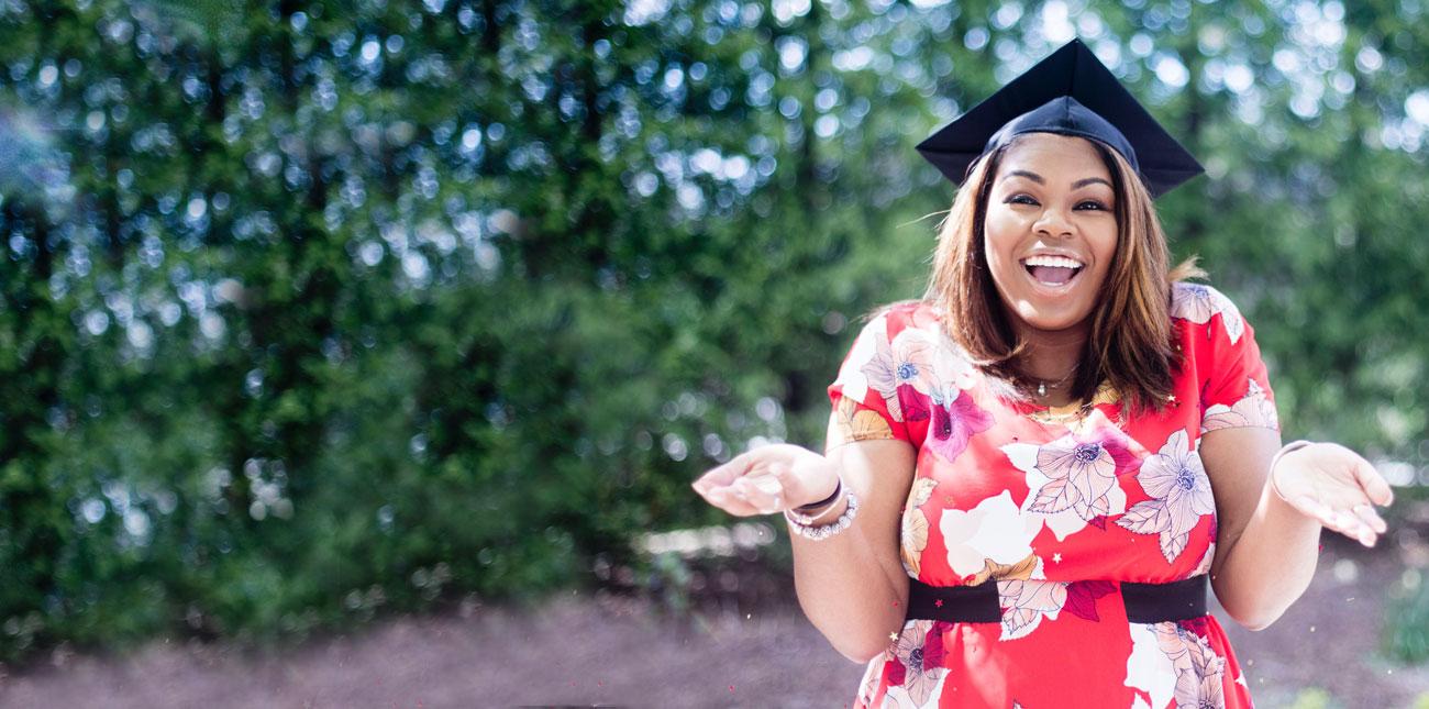 Parent Education Partners graduate girl